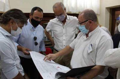 Arrecifes: Olaeta recorrió el hospital junto al ministro Gollan