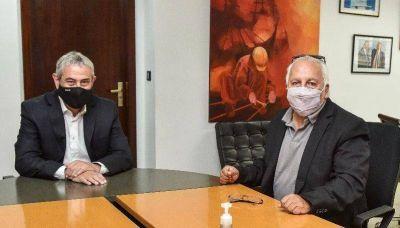 Luis Cabana se reunió con el ministro de Desarrollo Territorial y Hábitat de la Nación