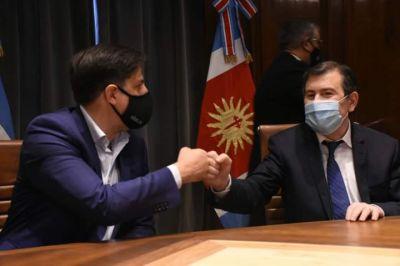 Provincia y Nación firmaron importante Convenios de cooperación
