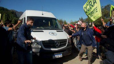 Liberaron a todos los detenidos por el ataque a la comitiva de Alberto Fernández en Chubut