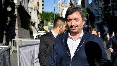 PJ Bonaerense: se presenta la lista que lleva a Máximo Kirchner como candidato a presidente