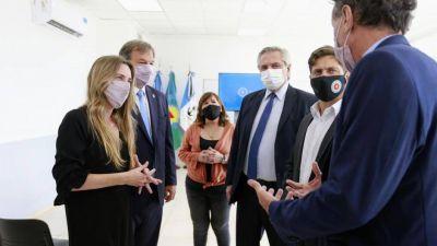 Alberto terminó de cerrar con los intendentes la lista del PJ que encabezará Máximo