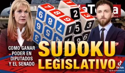 Cuestión de bancas y números: Sudoku legislativo