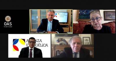 La Alianza Evangélica Latina y la OEA impulsarán la libertad religiosa en América
