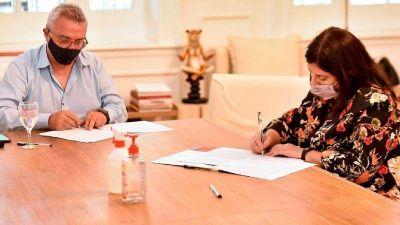 El Municipio Tigre y el CONICET acordaron la creación de un laboratorio de investigación y producción de cannabis medicinal