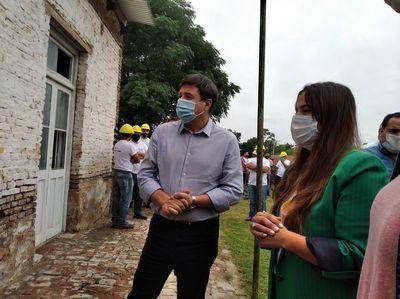 El ministro de Desarrollo Social, Daniel Arroyo, visitó Lobos: estuvo en el municipio y en un predio del Movimiento Evita