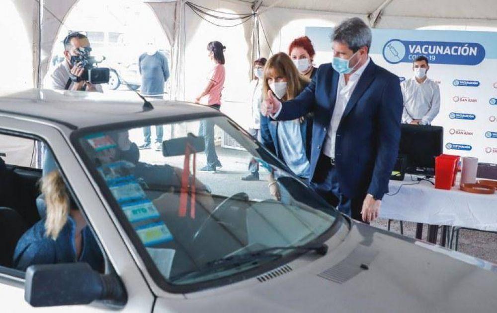 Uñac destacó el óptimo funcionamiento de Autovac