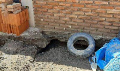 La Punta: denuncian hundimiento de viviendas sociales y falta de respuesta por parte del Gobierno