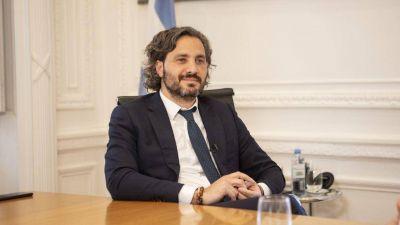 Santiago Cafiero recibió en Casa Rosada al nuevo ministro de Justicia, Martín Soria