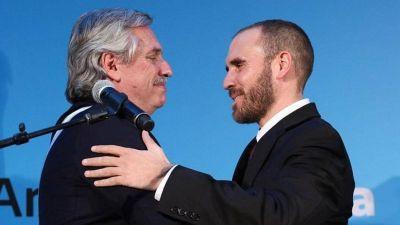 Alberto respaldó a Guzmán, que prepara un colchón fiscal para negociar con el FMI
