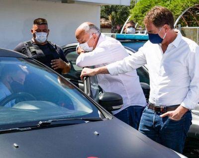 """Santilli cruza a Provincia en """"patrulleros electorales"""" y disputa con intendentes"""