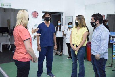 """""""Trabajamos en la recuperación y ampliación del Hospital de Salud Mental"""", dijo Nardini"""
