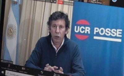 """Posse: """"La UCR no fue ni un socio menor en Juntos por el Cambio"""""""