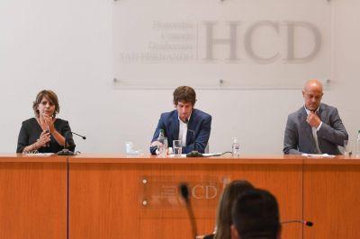 Juan Andreotti inició las sesiones del HCD, anunció obras y agradeció el esfuerzo de vecinos y trabajadores