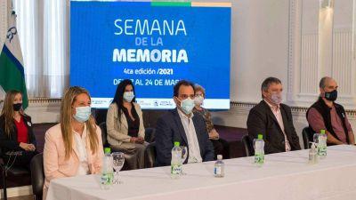 Llamosas anunció la creación del Archivo Municipal de la Memoria
