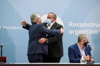 """Héctor Daer: """"El trabajo conjunto es el paso inicial para construir una Argentina inclusiva"""""""