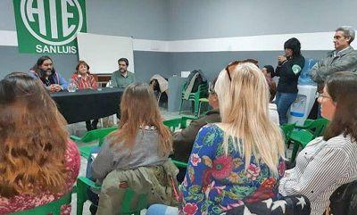San Luis: Estatales se reunieron con la ministra de Salud provincial
