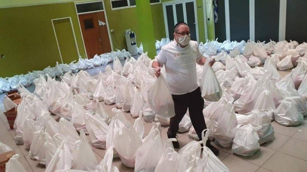Una organización judía donará alimentos típicos de Pésaj a familias que lo necesiten en siete puntos del país