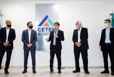 Kicillof anunció inversiones en tecnología para Pymes y recordó el daño que le hicieron al sector JXC y la dictadura