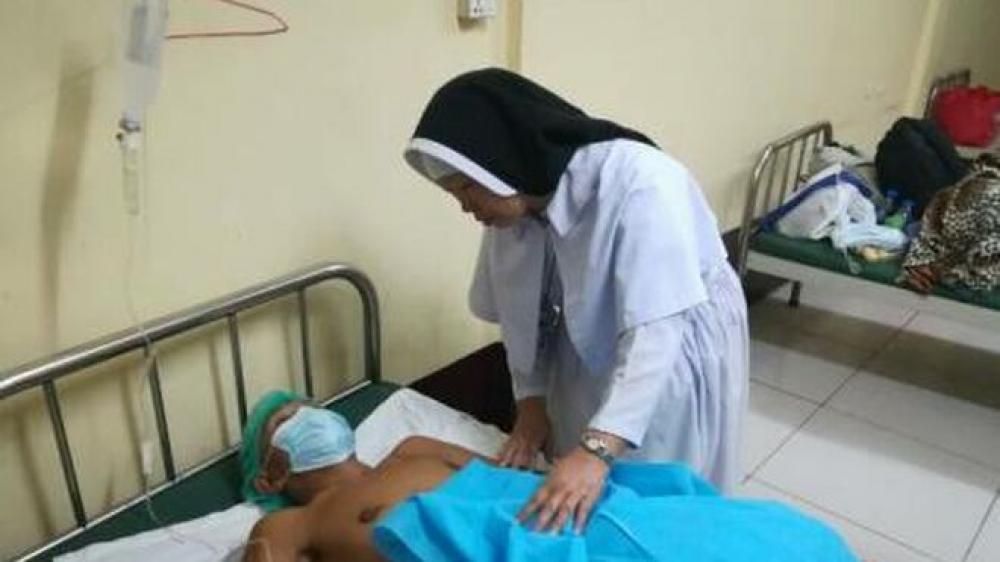 ¿Quién es la monja que, de rodillas, evitó una masacre en Myanmar y mencionó el Papa?