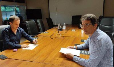 El Intendente firmó un convenio marco para trabajar articuladamente con AUSA