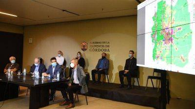 Intendentes de Punilla analizaron la traza de la nueva Ruta 38