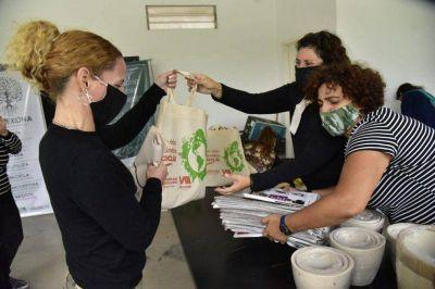 En el primer día, fueron intercambiados más de 600 kilos de residuos por frutas