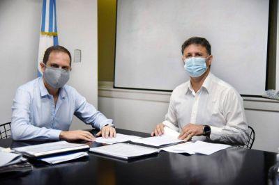 Destinarán 20 millones de pesos para continuar las obras en el Parque Pereira