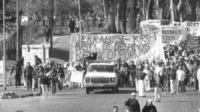 24M y Terrabusi: el homenaje es seguir la lucha de nuestros desaparecidos