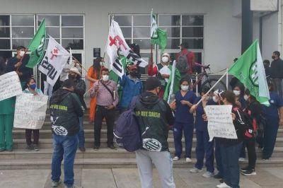 Contratados del Hospital Materno anunciaron un paro para el viernes