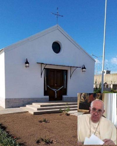 El Papa Francisco envió un mensaje a presos bonaerenses que construyeron una capilla en Bolívar