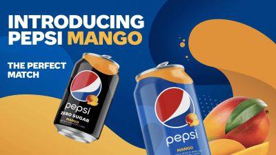 Pepsi Mango, el primer refresco de cola de sabor permanente en 5 años de la compañía