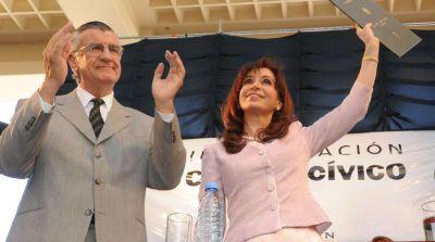 Antes de despedirse de la presidencia del PJ, José Luis Gioja reivindicó a Cristina Kirchner y apuntó contra Miguel Pichetto