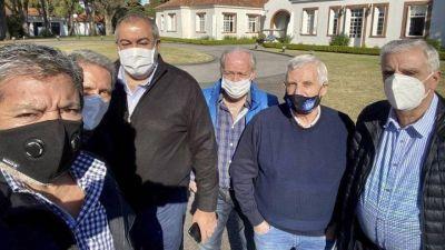 Asume Alberto en el PJ con la presencia de Daer, Moyano, Yasky, Caló, Santa María y Pignanelli en la conducción partidaria