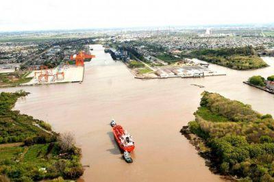 Desde la administración del Puerto La Plata destacaron la construcción del Canal Magdalena