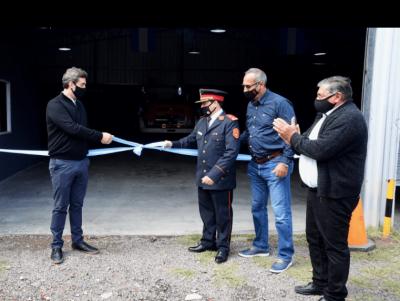 Inauguraron el nuevo Destacamento de Bomberos en la localidad de Open Door