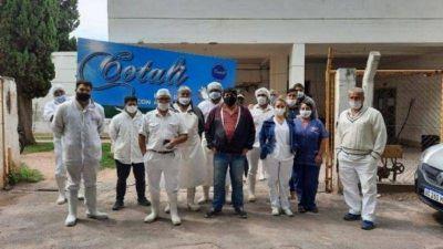 Los trabajadores de Cotali pasaron a planta permanente del Estado provincial