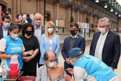 La provincia de Buenos Aires llegó al millón de vacunados contra el Covid-19