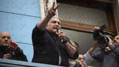"""Ahora el """"Pata"""" Medina quiere volver a la actividad gremial"""