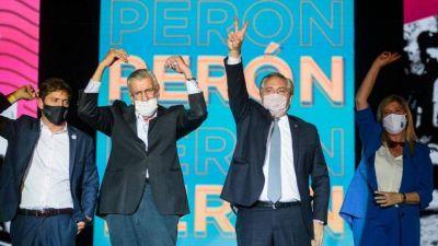 Alberto Fernández y un palo a Macri: