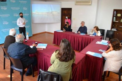 El EMTur realizó una jornada de trabajo junto a organizadores de eventos marplatenses
