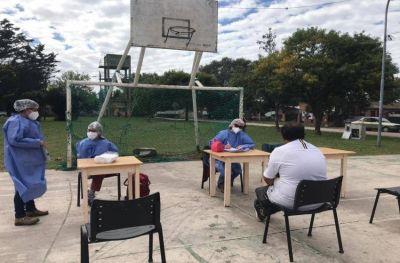 Testeos rápidos y gratuitos de Covid, VIH, sífilis y Hepatitis C en Playa Chapadmalal