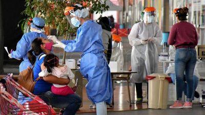 Murieron 126 personas y 6.401 fueron diagnosticadas con coronavirus en el país