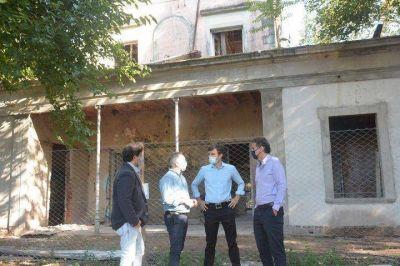 Morón | Ghi y Katopodis recorrieron obras del distrito