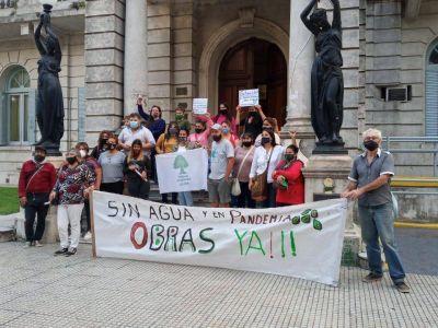 Día Mundial del Agua: reclamo por la situación en Luján