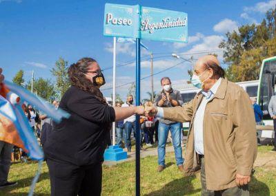 Berazategui: Intendente Mussi inauguró nuevo ramal de la línea 619 y expresó que