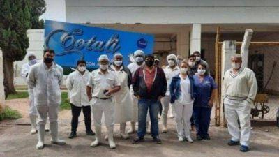 Tras asegurarles la estabilidad laboral, empleados de la Cotali dejaron de reclamar