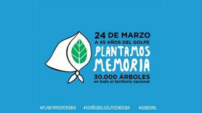 #PlantamosMemoria Múltiples actividades sindicales por el Día de la Memoria alineadas con la propuesta de Abuelas de Plaza de Mayo
