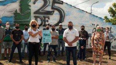 Plantaron árboles en memoria de trabajadores gastronómicos desaparecidos