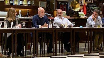 La cena íntima de Larreta con diputados: discurso anti polarización y arenga electoral